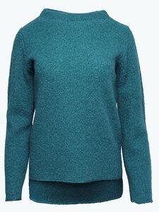 Damen Kreppwalk-Pullover reine Bio-Schurwolle - Reiff