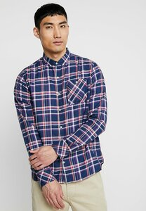 Checked Button Down Shirt - Knowledge Cotton Apparel
