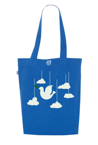 Fly in the sky  - Cotton Bag - GreenBomb
