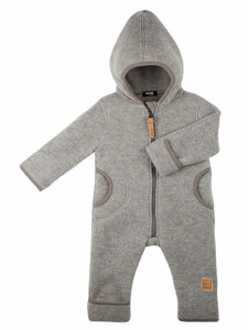 pure pure Baby und Kleinkind Fleece-Overall reine Bio-Wolle - Pure-Pure