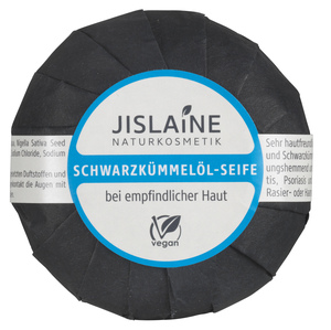 Schwarzkümmelöl-Seife, 100g - Jislaine Naturkosmetik