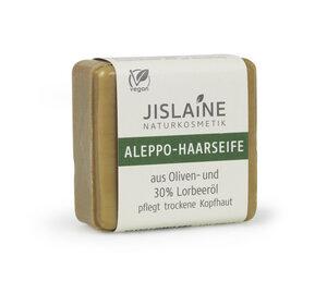 Aleppo-Haarseife, 100 g - Jislaine Naturkosmetik