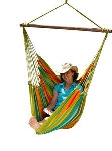 Cayo Grande Hängestuhl, Hängesessel aus langfasriger Baumwolle - MacaMex