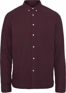 Double Layer Checked Shirt GOTS - KnowledgeCotton Apparel