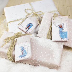 Wintermärchen Geschenkverpackungs-Set - Bow & Hummingbird