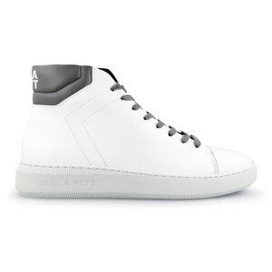 High-top Sneaker Adams WOMEN - weiß mit Farbakzenten - Ella & Witt