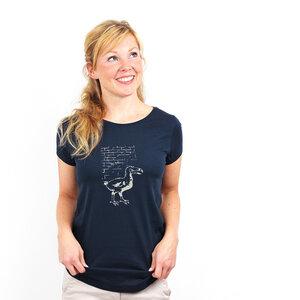 Dodo Wuz Here - Bioshirt mit Print Frauen - Coromandel