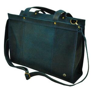 Elegante - Laptoptasche Rindsleder dunkelblau - MoreThanHip