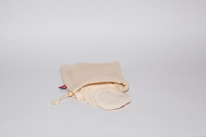 Wiederverwendbare Abschminkpads aus Biobaumwolle - Original Unverpackt