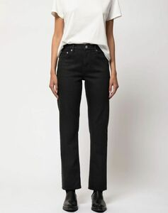 Straight Sally Ever Black - Nudie Jeans