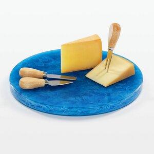 Dekoration Accessoire Käseplatte aus wiederverwendetem Flaschenglas - MAGNA Glaskeramik®