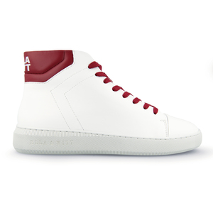 High-top Sneaker Adams MEN - weiß mit Farbakzenten - Ella & Witt