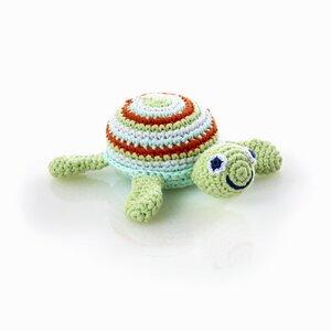 Schildkröte mit Rassel - Pebble
