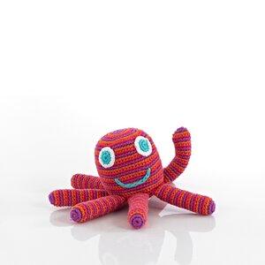 Oktopus mit Rassel - Pebble