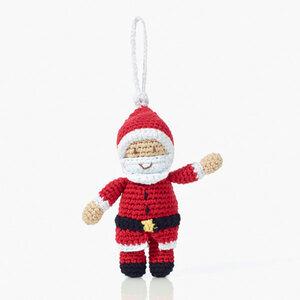 Weihnachtsdekoration Nikolaus Santa Claus - Pebble