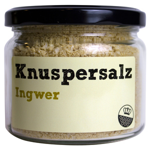 Knuspersalz Ingwer, 200gr - King of Salt