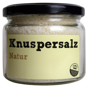 Knuspersalz Natur, 200gr - King of Salt