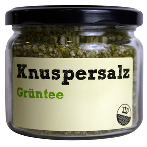 Knuspersalz Grüntee, 200gr - King of Salt