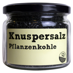 Knuspersalz Pflanzenkohle, 200gr - King of Salt