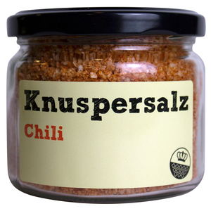 Knuspersalz Chili, 200gr - King of Salt