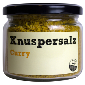 Knuspersalz Curry, 200gr - King of Salt