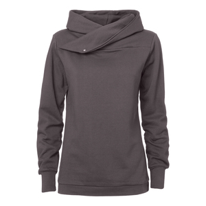 ThokkThokk TT1007 Hooded Sweater Woman Graphite - THOKKTHOKK