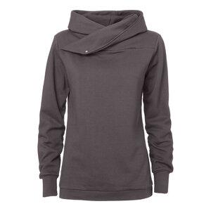 ThokkThokk TT1007 Hooded Sweater Woman Graphite - THOKKTHOKK