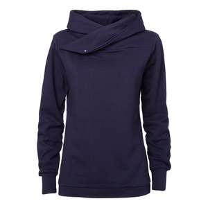 ThokkThokk TT1007 Hooded Sweater Woman Midnight - THOKKTHOKK