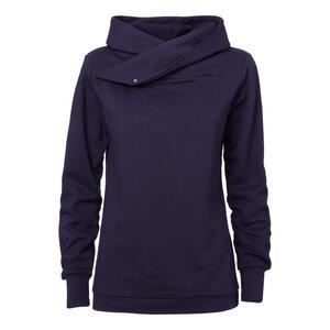 ThokkThokk TT1007 Hooded Sweater Woman Midnight - THOKKTHOKK