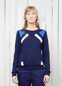 Solaris Jumper Dark Blue - TRECHES