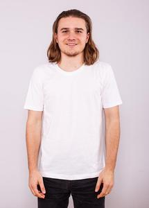 Mens Slim Fit T - White - EarthPositive