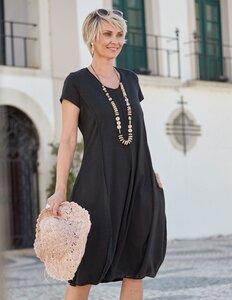 Jersey-Kleid mit Stretch aus Bio-Baumwolle - Deerberg