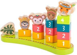 Steckspiel mit Zahlen Jungle - small foot