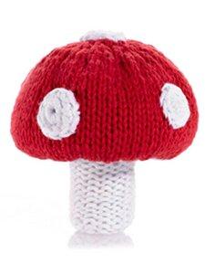 Babyrassel als Pilz aus Baumwolle. - Pebble