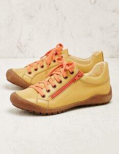 Leder-Sneaker Tharalea - farbenfroh und mit Wechselfußbett - Deerberg