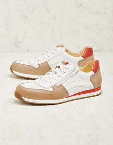 Leder-Sneaker (vegetabil gegerbt) - Deerberg