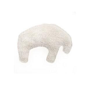 Öko Hundespielzeug Plüsch kleiner Eisbär aus Island - Grüne Pfote®