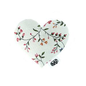 i love flowers (recycelt) Duftherz/ Duftsäckchen - Burst
