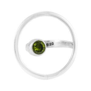 Silber Ring Naturstein Fair-Trade und handmade - pakilia