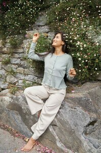 Strick-Cardigan HANNA aus Bio-Pima-Baumwolle für Damen - Apu Kuntur