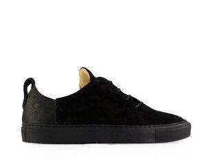 elm / schwarzes leder / schwarze sohle - ekn footwear