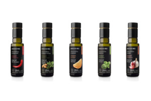 Kyklopas Premium Olivenöl Dressing - Frühe Ernte und aromatisiert - Set 5x100ml - Kyklopas