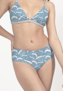 Bikini Slip Amami - wendbares Surf Bikini-Unterteil - Print - boochen