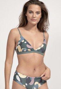 Bikini Top Amami - Wendbares Surf Bikini-Oberteil - Print - boochen