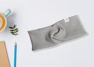Stirnband Twist aus Bio-Baumwolle Made in Germany - vis wear