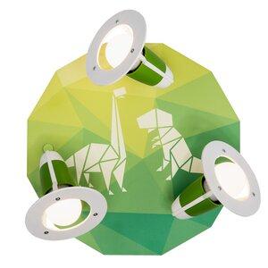"3er Spot Rondell ""Dinopoly"" grün - Elobra"