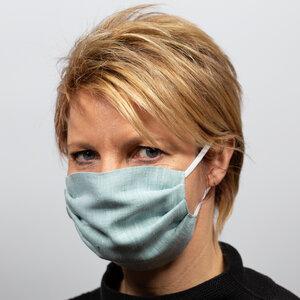 Alltagsmaske aus Bioleinen - nahtur-design