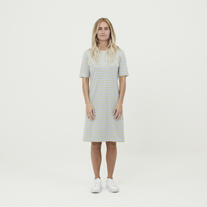 Gestreiftes Kleid - VIOLET - aus Bio-Baumwolle - KnowledgeCotton Apparel