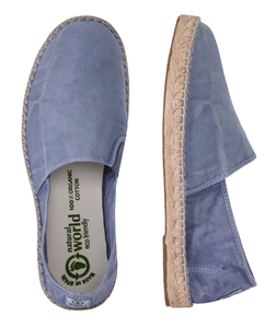 Vegan Damen Espadrilles washed - Old Merle - natural world