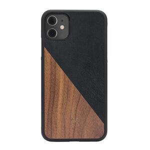 iPhone Hülle EcoSplit 2.0 aus Holz und veganem Leder - Woodcessories